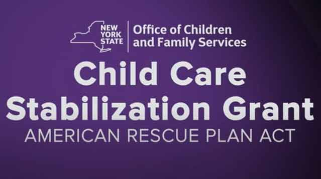 a YouTube video is available to help you with the Child Stabilization           Grant.