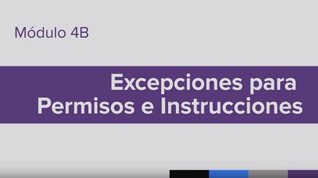 Entrenamiento para la Administración de Medicamento (MAT), Vídeo 4b