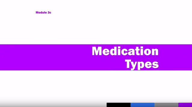 Medication Administration Training (MAT), Module 3c