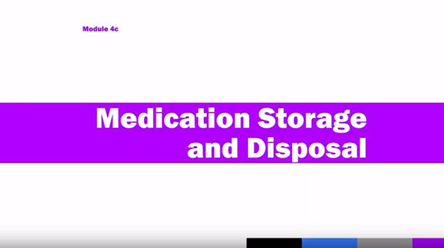Medication Administration Training (MAT), Module 4c
