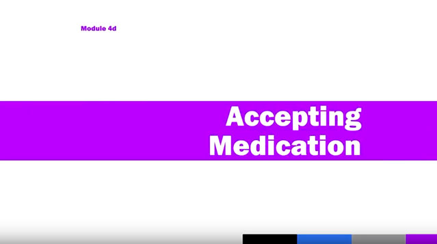 Medication Administration Training (MAT), Module 4d