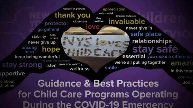 Guidance and Best Practices for Child Care Programs Operating During the COVID-19 Emergency