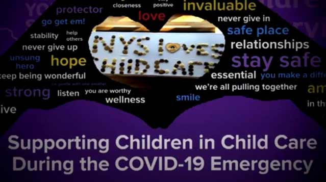 Supporting Children in Child Care During the COVID-19 Emergency